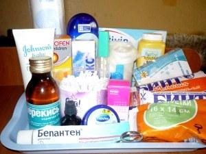 Что должно входить в аптечку для новорожденного?
